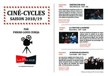 Ciné-Cycles 2018/19