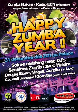 HAPPY ZUMBA YEAR